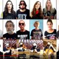 Tela de computador com a imagem de 22 duas pessoas, cada uma em uma conexão. #Paratodosverem