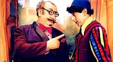Os atores Sergio Mamberti e Cássio Scapim na pele de personagem do Castelo Rá-Tim- Bum. #Pracegover