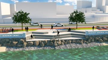 Projetos Nova Entrada de Santos e Nova Ponta da Praia são apresentados na  Associação Comercial e34bb0881daa4