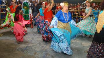 5de32623e Festa em Santos homenageia padroeira dos ciganos   Prefeitura de Santos