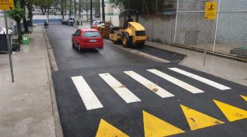 7d34c7b44 Rua da Aparecida recebe os arremates finais da revitalização