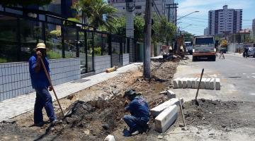 5e347b8fe Revitalização de vias está concentrada na Fernando Costa