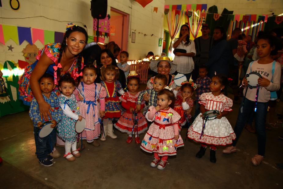 Arraiá Mostra União De Comunidade Escolar Prefeitura De Santos